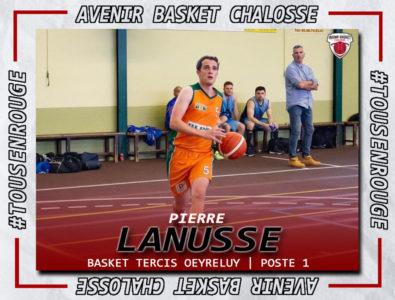 R1M : Signature de Pierre Lanusse