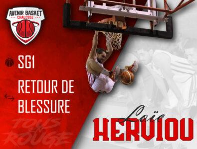 R1M : Retour de Loïc Herviou