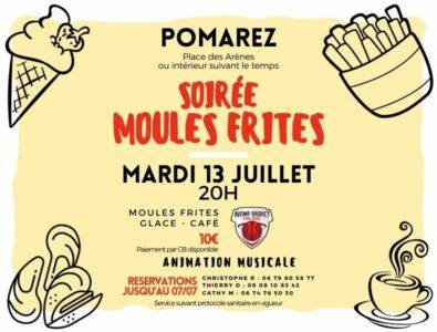 Soirée Moules Frites & Loto des 13-14 juillet