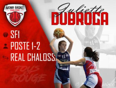 N3F : Signature de Juliette Dubroca